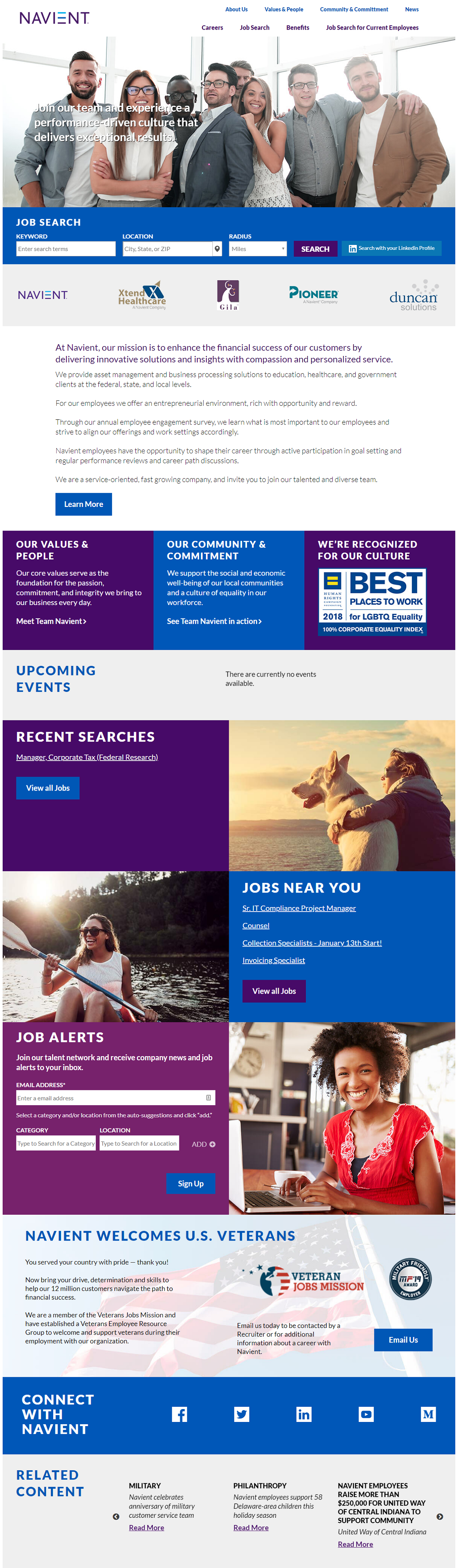 Navient company career page