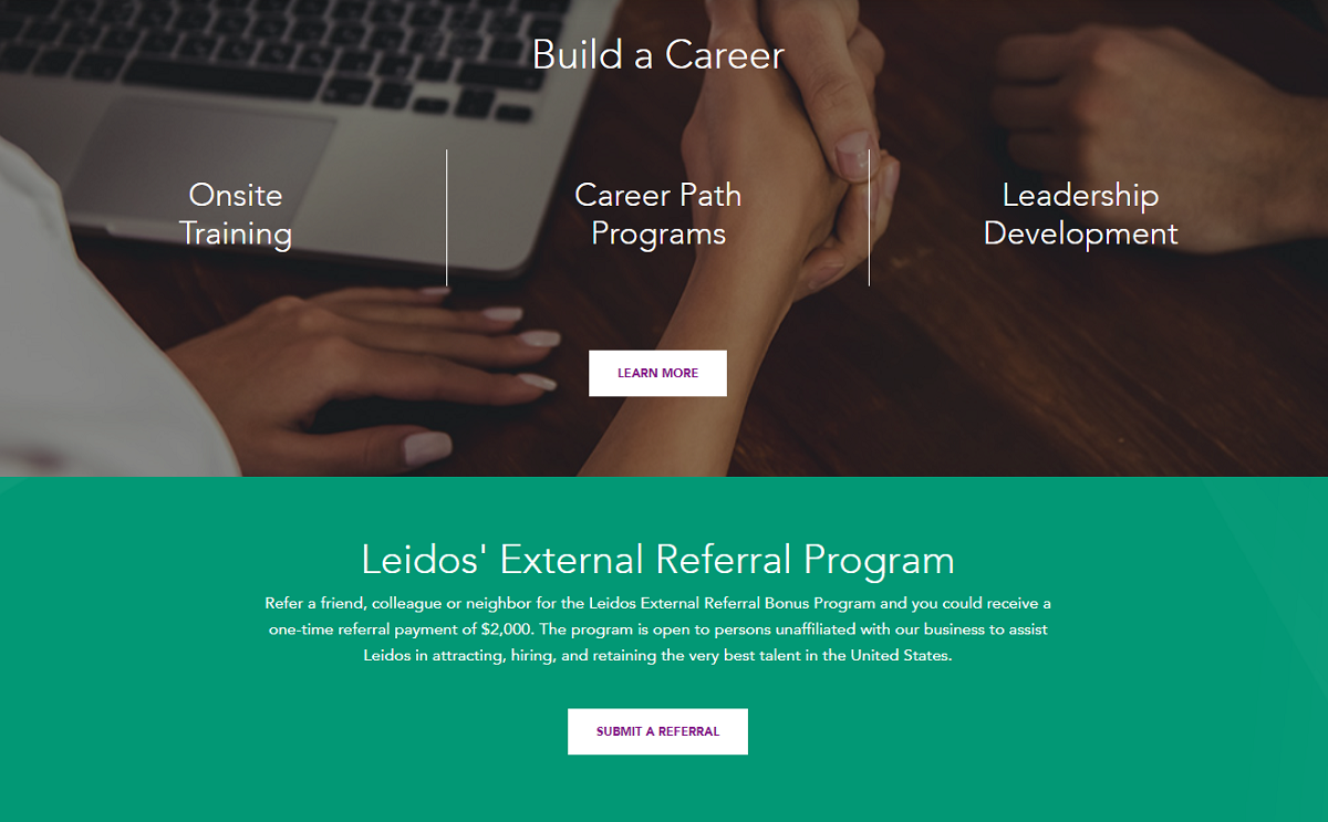 Leidos referral program