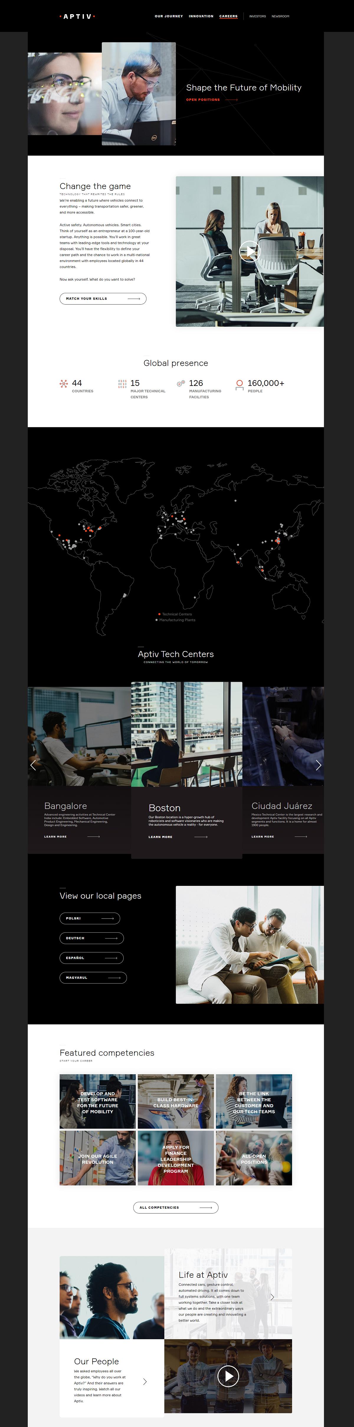 Aptiv career page