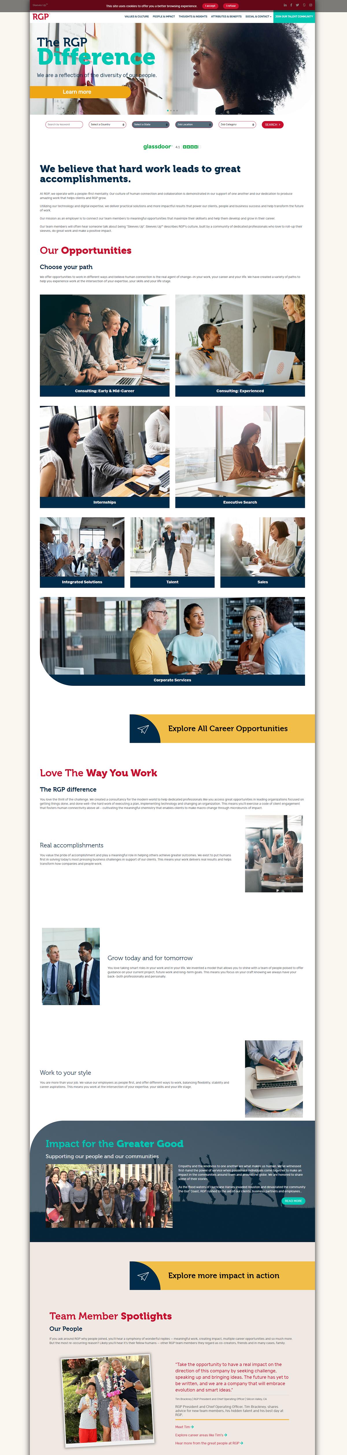 RGP career page