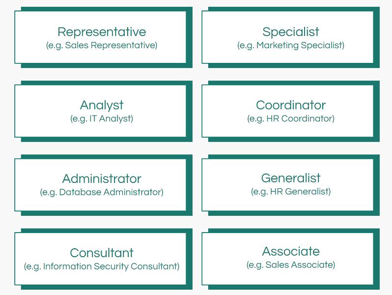 individual contributor job titles
