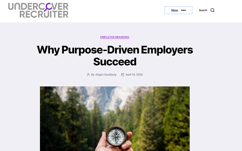 undercover recruiter blog homepage