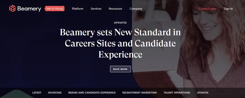 beamery hr blog homepage