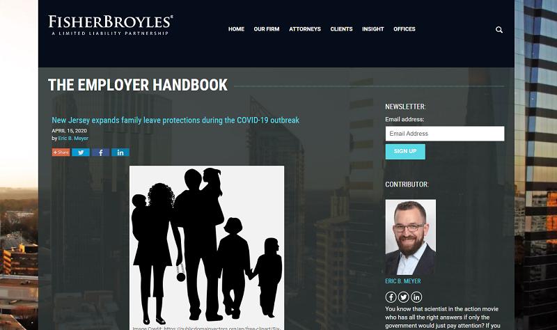 the employer handbook blog homepage
