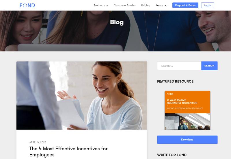 fond hr blog homepage