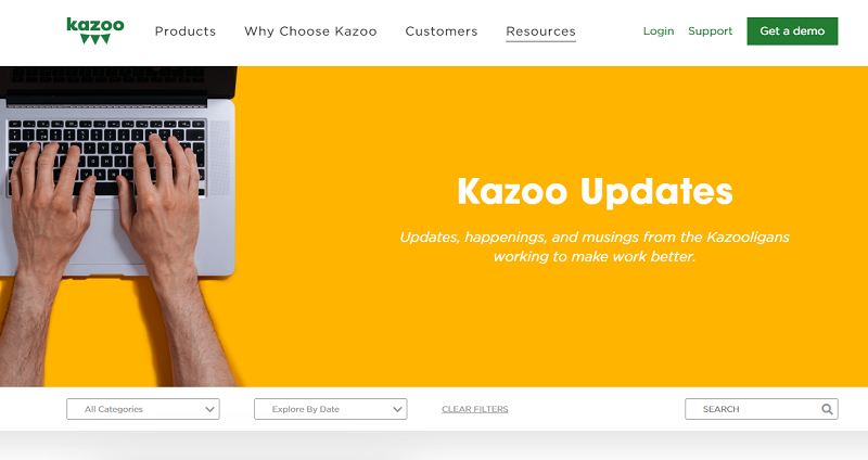 kazoo hr blog homepage