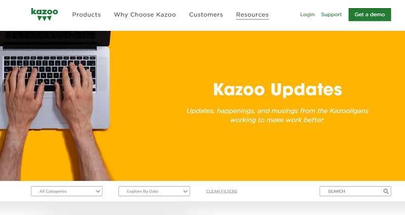 kazoo hr blog homepage