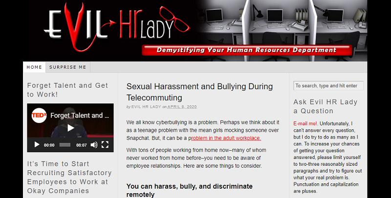 evil hr lady blog homepage