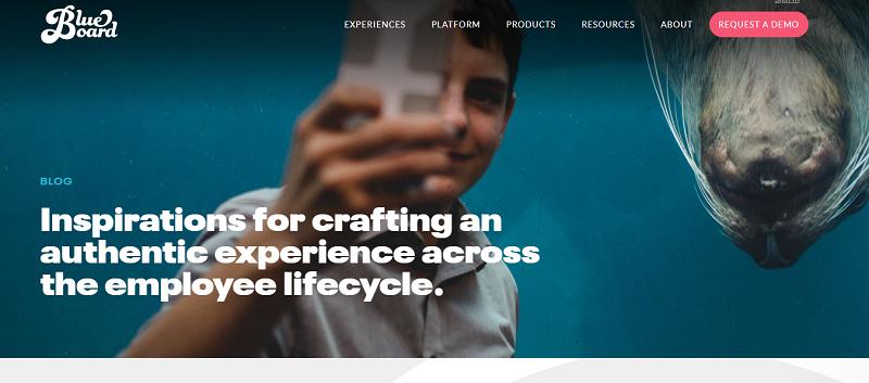 blueboard hr blog homepage