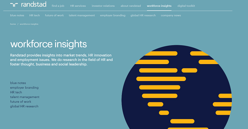 randstad workforce insights homepage
