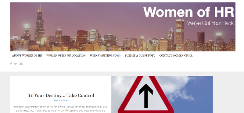 women of hr blog homepage