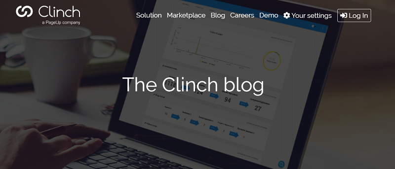 clinch talent blog homepage