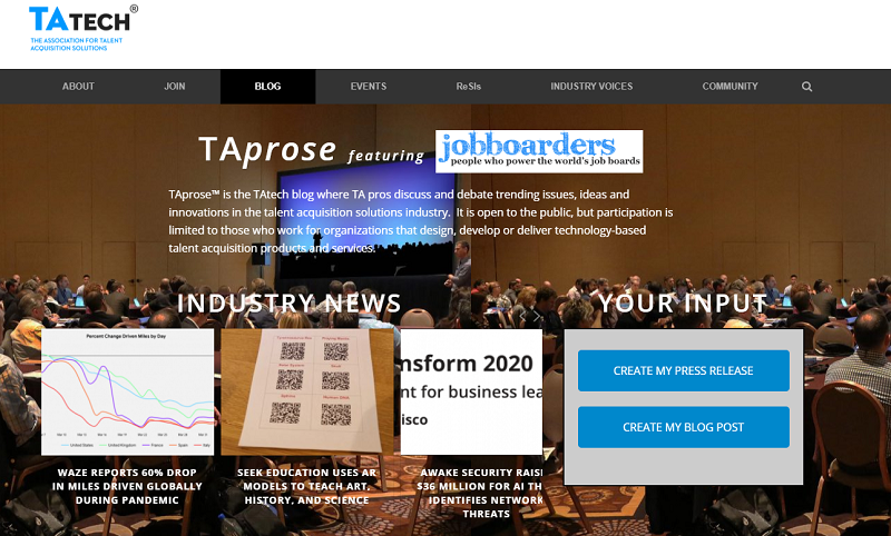 tatech blog homepage