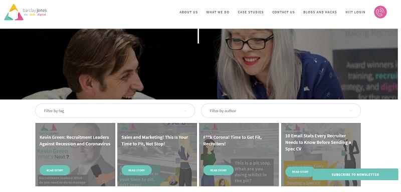 barclay jones blog homepage