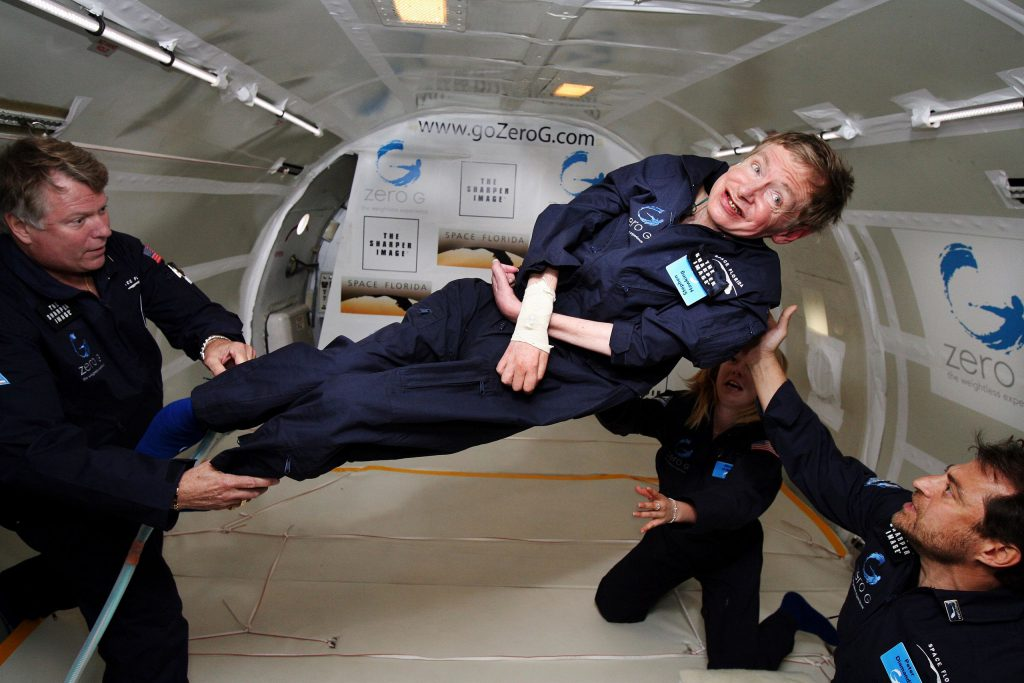 Stephen Hawking disability