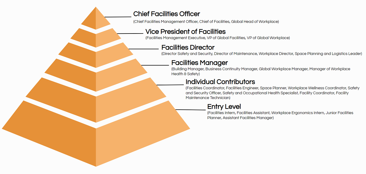 facilities job title hierarchy