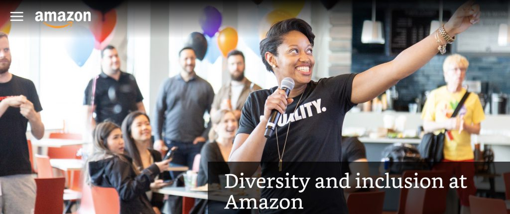Diversity and inclusion mission statement amazon