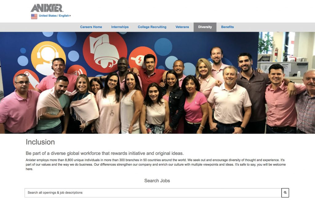 diversity in leadership anixter