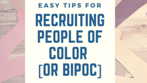recruiting people of color