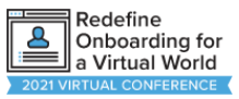 redefine onboarding for a virtual world logo