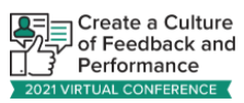 create a culture of feedback and performance logo