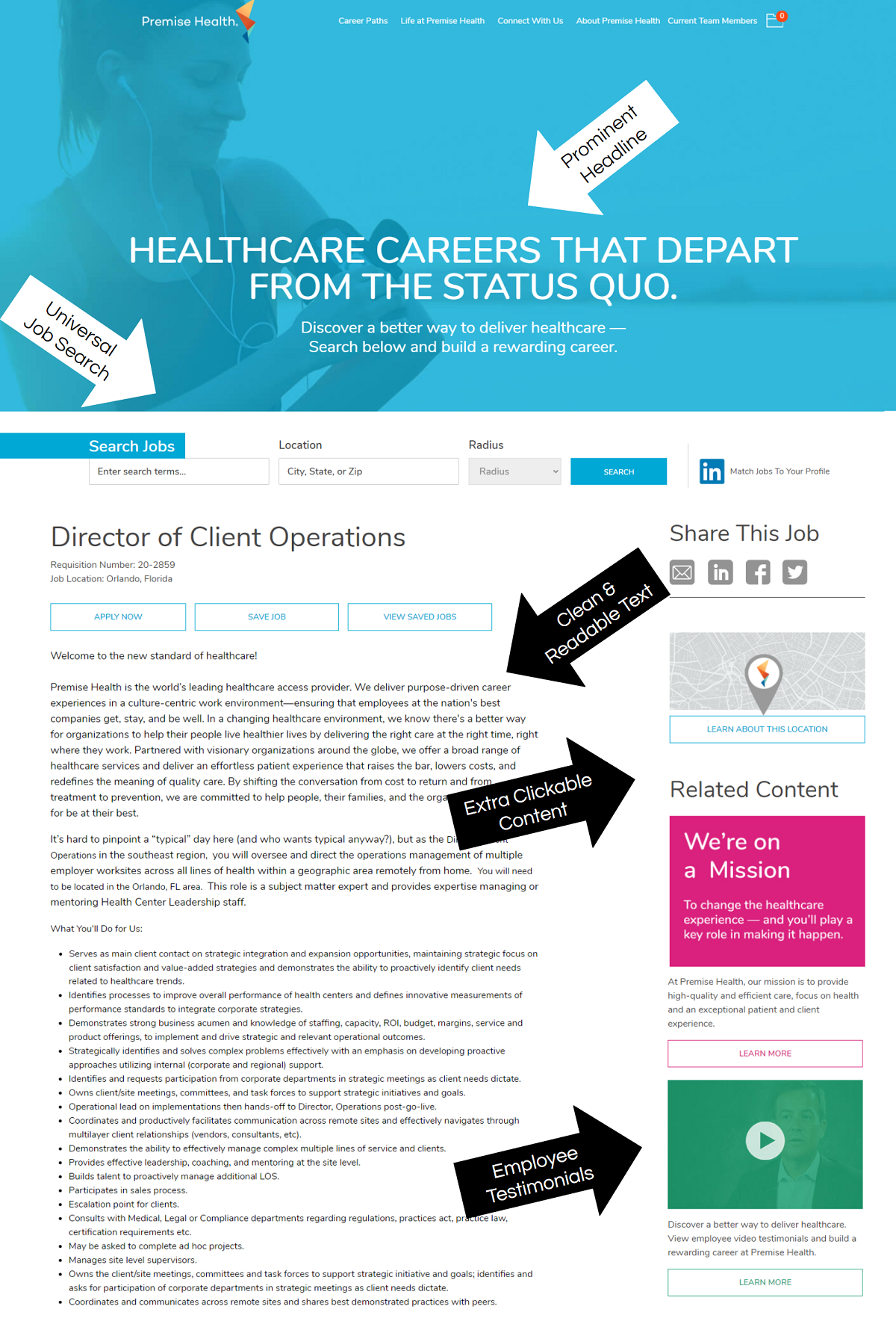 premise health job posting