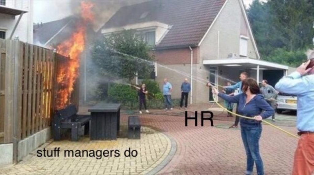 hr team meme