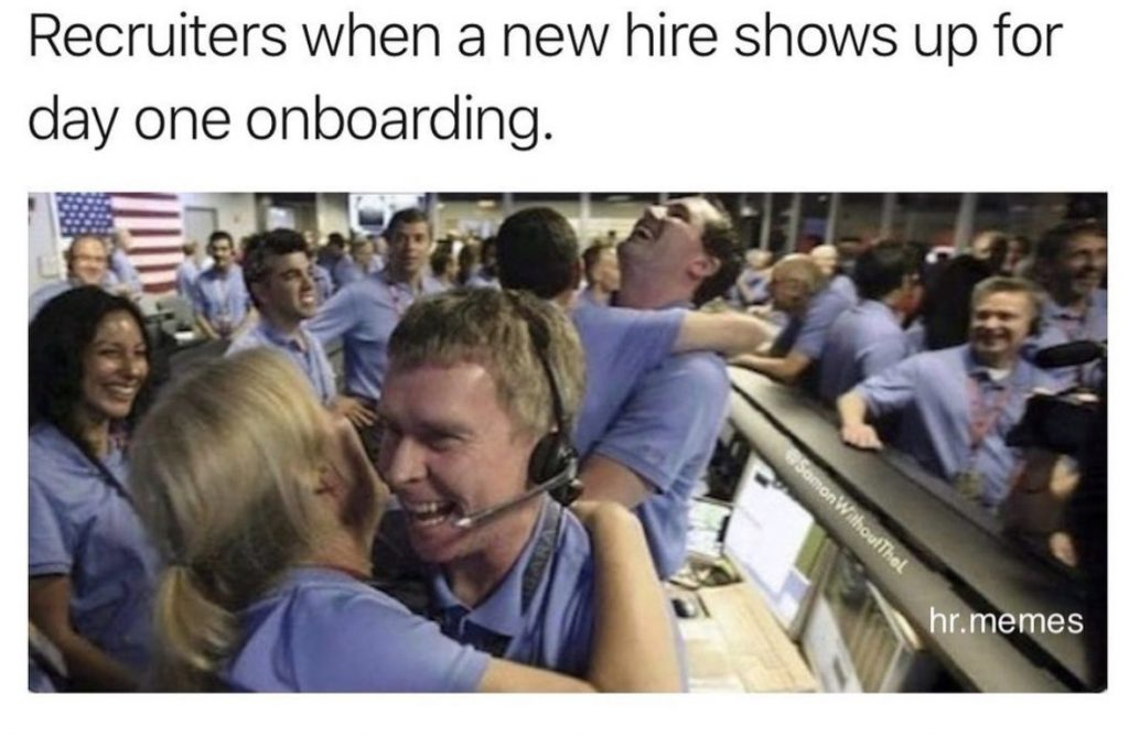 recruiter meme