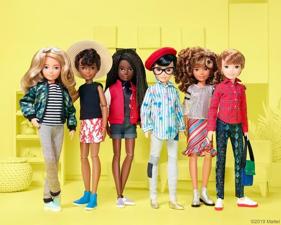 mattel removes sexist bias in dolls