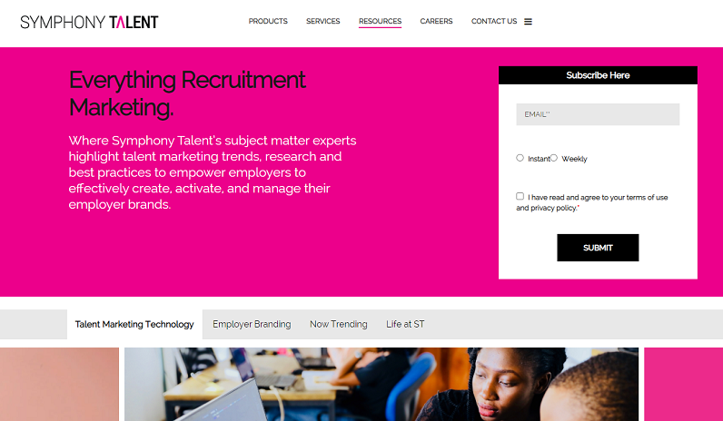 symphony talent recruitment blog